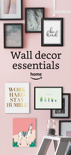 Find the perfect wall art or build your own. We have looks for every home.