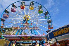 Ferris wheel at Scarborough