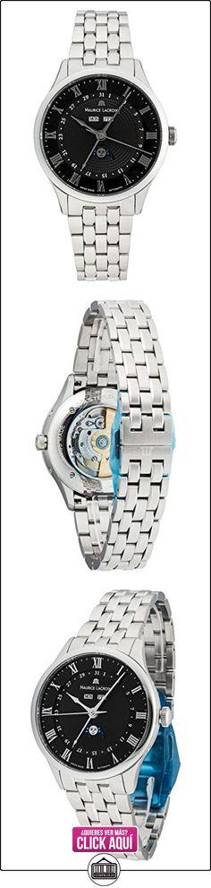Maurice Lacroix Masterpiece Phases de Lune MP6607de SS002–310  ✿ Relojes para hombre - (Lujo) ✿ ▬► Ver oferta: https://comprar.io/goto/B00EYJ2H72