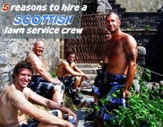 5 Great Reasons to Hire a Scottish Lawn Crew