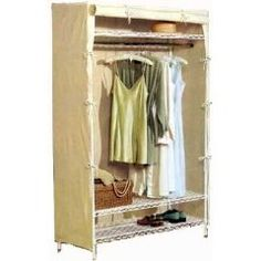 This page is presenting stylish free standing closet units that could help to organize your entire wardrobe with ease-access approach. Nyc Studio Apartments, Canvas Wardrobe, Berkeley Homes, Metal Shelves, Do It Yourself Home, Home Organization, Organizing, Slipcovers, Storage Solutions