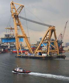 Sheerled Kaisho - Gigantic Floating Crane