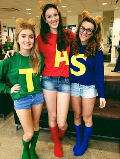 Alvin and the chipmunks costume!