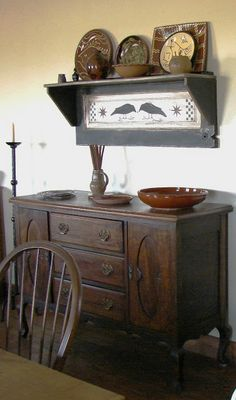 FARMHOUSE – INTERIOR – the country farm home includes many period decor items.