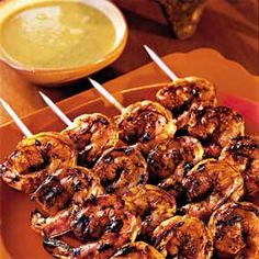 Fresh Ideas for Shrimp Skewers  | Mexico: Mexican-Grilled Shrimp with Smoky Sweet Sauce | MyRecipes.com