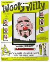 """Original Wooly Willy: Use the magnetic wand to """"draw"""" with iron fillings."""