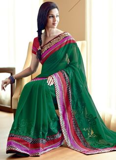 Best Eid Saree Designs 2017 For You To Celebrate Eid Day That Should You Have
