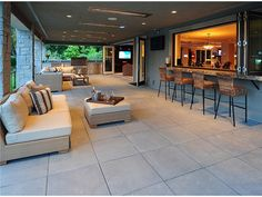 Seattle Dream Home Outdoor entertaining area