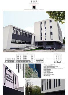 Clinica medicală Ovidius - Bienala Naţională de Arhitectură 2014 Exhibitions, Multi Story Building
