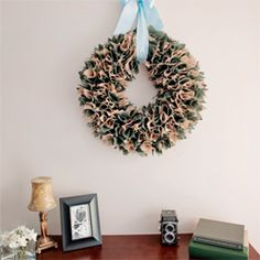We have another great tutorial on the blog today, a two tone burlap wreath. Come have a look!