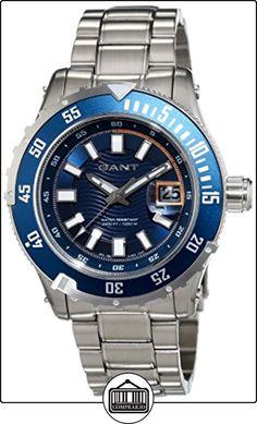 GANT TIME PACIFIC W70642 - Reloj para hombres, correa de acero inoxidable color plateado de  ✿ Relojes para hombre - (Gama media/alta) ✿