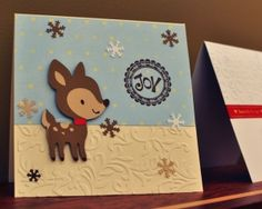 Create a Critter Christmas Card