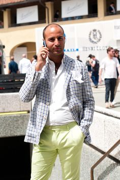 Image detail for -We're officially halfway through Pitti, and while I'm not going to call it just yet, this might just be my favourite look so far. Highlights include joyously ...