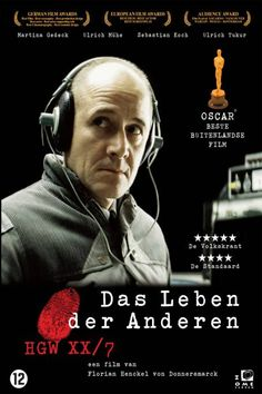 German, 2006 - about the monitoring of East Berlin by agents of the Stasi, the GDR's secret police.