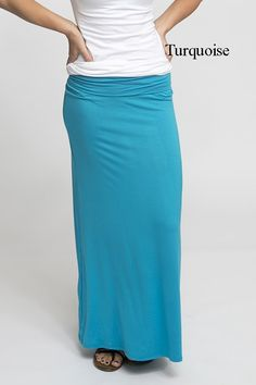 "These maxi skirts are perfect year round! They're perfect to dress up or wear casual!   These are our NEW high quality maxi skirts. We love these are they'll be a    perfect addition to your wardrobe!COLORSBlackBrownBurgundyCharcoalEggplantFuchsiaGreenHeather GreyMochaNavyRedRoyalTurquoiseSIZES Small (2/4)Medium (6/8)Large (10/12)X-Large (14/16)*Model is 5'7"", wears a size 2 and is wearing a small   MATERIALS 95% Rayon/5% Spandex   CARE Machine wash gentle/delicate & lay flat ..."