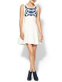 C luce white dress zappos