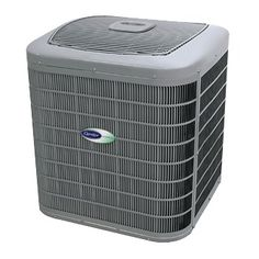 Central air conditioner prices can vary greatly, so theres a model for every home. Shown here is a Carrier Infinity AC unit.