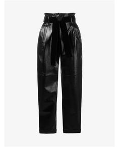 Philosophy Patent Lambskin Trousers