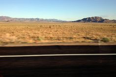 Driving to Las Vegas from California, did it once , boring !!!