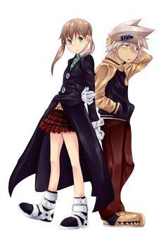 Soul and Maka Love | soul and maka by gone phishing manga anime digital media paintings ...
