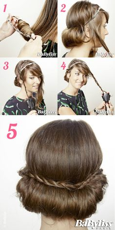Mix Style, Braided Hairstyles, Bobby Pins, Braids, Hair Accessories, Make Up, Long Hair Styles, Burlesque, Hair Ideas