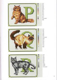 Gallery.ru / fotograf # 6 - Francien van Westering - Katten borduren francien Araya Geldi - anfisa1