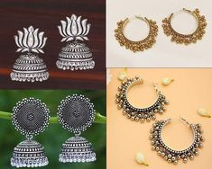 Diwali Dresses, Diwali Outfits, Indian Jewelry Sets, Indian Wedding Jewelry, Indian Earrings, Oxidised Jewellery, Memorable Gifts, Hippie Boho, Necklace Set