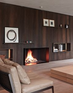 Design: Benoit Viaene Fireplace: De Puydt nv (Metalfire) Photo: Jan Verlinden