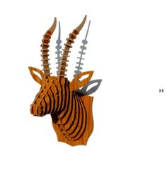 DIY Animal Heads and Horns by Panache. 5 Lovely Decor Products that Caught my Eye this Week   The Keybunch Decor Blog  