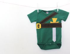 Baby Geekery Onesie, Link Baby Onesie, Video Game Onesie, Gamer Onesie. $28.00, via Etsy.