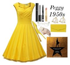"""""""Peggy Schuyler"""" """"HAMILTON"""" by ellelovesfashion07 ❤ liked on Polyvore featuring Kate Spade, Chanel, Rimmel, Ann Taylor, Fendi, Napoleon Perdis, women's clothing, women, female and woman"""
