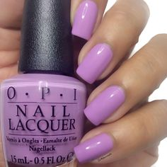 'Purple Palazzo Pants' from #OPI Venice Collection, is a pretty lilac creme polish.