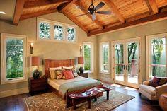 Light-filled Master Bedroom of house plan 11584KN