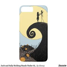 Jack and Sally Holding Hands Under the Moon iPhone 8 Plus/ 7 Plus Case