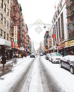 Snowy #newyorkcity