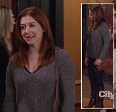 46 Ideas For Hair Color Grey Brown Purses Casual Hairstyles, Cool Hairstyles, Blonde Color, Gray Color, Summer Brunette, Hair Trends 2018, How I Met Your Mother, Alyson Hannigan, Fashion Tv