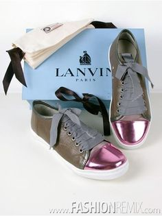 PreppyFashionist: It's Lanvin Sneakers Baby Unusual Baby Gifts, Baby Sneakers, Lanvin, Baby Kids, Fashion Beauty, Kids Fashion, Converse, Louis Vuitton, Zapatos