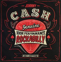 Johnny Cash High Performance Bandana Rockabilly