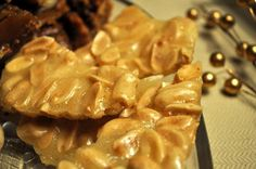Vegan Peanut Brittle - Hell Yeah It's Vegan! Dairy Free Treats, Gluten Free Sweets, Vegan Sweets, Vegan Snacks, Vegan Desserts, Just Desserts, Vegan Recipes, Dessert Recipes, Healthy Sweets