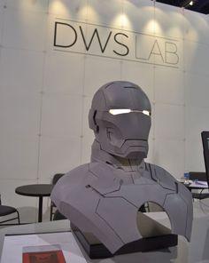 ironman DWS 3D Printing