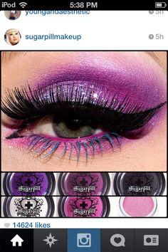 Sugarpill makeup x)