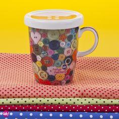 #Buttons #Mug - Amor em forma de botão by Carol Grilo • FofysFactory®, via Flickr