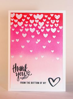 Stampsets from Neat and Tangled: falling hearts and All my heart