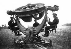 Listen before radar. Like something out of the movie Brasil! #vintage #technology #scifi #research #retrofuture #steampunk