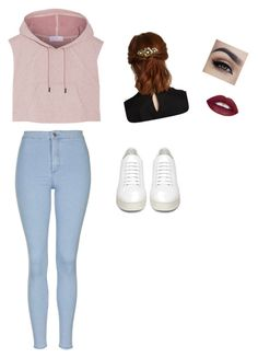 """""""Untitled #8"""" by nilaycafer ❤ liked on Polyvore featuring adidas, Topshop, Off-White, men's fashion and menswear"""