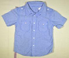 690 Ft. - Ing - kék-fehér csíkos (George) Ing, Georgia, Shirt Dress, Shirts, Tops, Dresses, Women, Fashion, Shirtdress