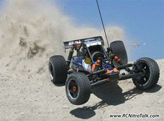 HPI Baja 5b SS throwing dirt around