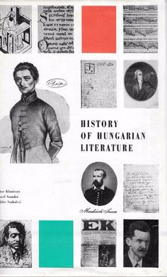 History of Hungarian Literature 1964 Hardcover English Language