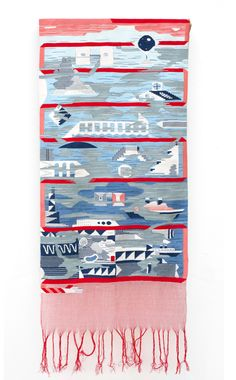 I love Hannah Waldrons design/art as I love the textiles of the Bauhaus ladies.
