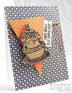 Stamps by Stamplorations, twine by The Twinery and inks by IMAGINE Crafts. Card created by Tenia Nelson. @allabtscrappin @imaginecrafts @thetwinery